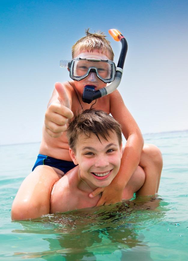 Bubble Maker Diving for Kids in Havelock Islands, Andaman | PADI Scuba Dive Resort | Best Scuba Diving in Havelock
